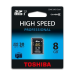 Toshiba Memóriakártya, SDHC, 8GB, Class 10, TOSHIBA