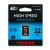 Toshiba Memóriakártya, SDHC, 32GB, Class 10, TOSHIBA