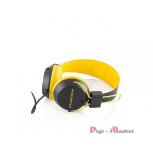 Modecom MC-400 Circuit Headset Yellow