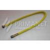 Flexi gáztömlő 1/2-1/2 KB 1000/2000 sárga bevonat