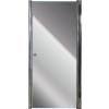 Aqualife HX-109T nyíló zuhanyajtó, 80x185 chrome profil matt üveg