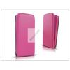 Haffner Slim Flexi Flip bőrtok - Apple iPhone 5/5S - pink
