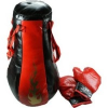Piros-fekete boksz-szett