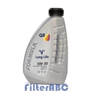 Q8 Formula V Long Life 5W30 1L