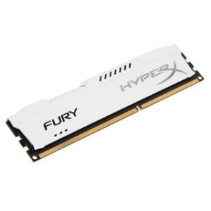 Kingston 8GB DDR3- 1333MHZ NON-ECC CL 9 DIMM FURY WHITE SERIES (HX313C9FW/8)