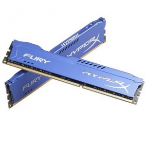 Kingston 8GB DDR3- 1600MHZ NON-ECC CL 10 DIMM (KIT OF 2) FURY SERIES (HX316C10FK2/8)