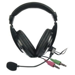Vakoss Stereo headset with microphone headphones Volume Control (SK-601HV)