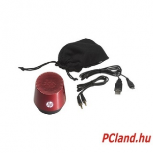 HP S4000 Red Portable Speaker (H5M97AA)
