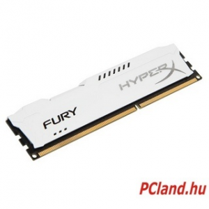 Kingston 4GB DDR3- 1600MHZ NON-ECC CL 10 DIMM FURY WHITE SERIES (HX316C10FW/4)