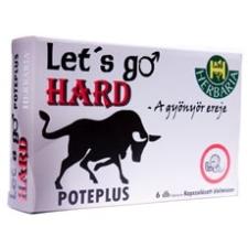 Herbária Let's go hard kapszula 6 db táplálékkiegészítő