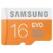 Samsung EVO MicroSDHC 16GB (class 10) + adapter