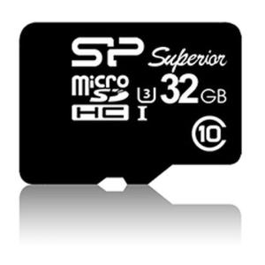 Silicon Power microSDHC Superior UHS-I(U3) 32GB