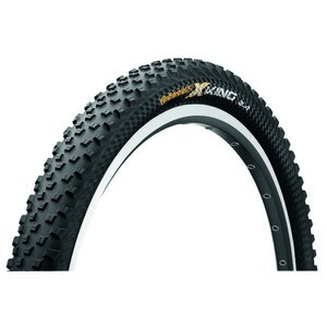 Continental Continental gumiabroncs kerékpárhoz 60-584 X-King 2.4 ProTection 27,5x2,4 fekete/fekete, Skin hajtogathatós