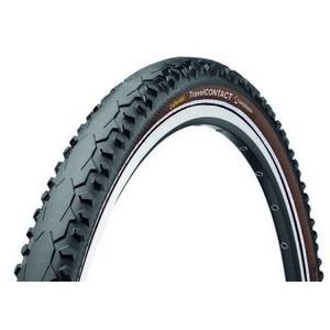 Continental Continental gumiabroncs kerékpárhoz 50-559 TravelContact 26x2,0 fekete/fekete, DuraSkin