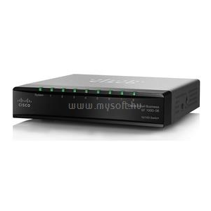 Cisco SF100D-08 8-Port Desktop 10/100 Switch (SF100D-08-EU)