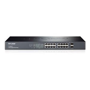 TP-Link 16-Port Gigabit Smart Switch with 2 Combo SFP Slots (TL-SG2216)