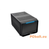"Thermaltake Urban SD1 Black Black,2x5,25"",1 + belső 2x3,5"",ITX,Mini-ITX,Audio,Táp nélkül,239x280x456mm,2x2,5"",2xUSB3.0"