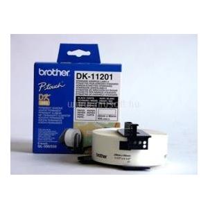 Brother Etikett címke DK-11201 Standard 400db (29mm x 90mm) (DK-11201)