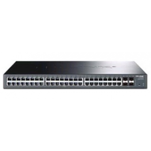 TP Link TL-SG2452 JetStream 48-Port Gigabit Smart Switch with 4 Combo SFP Slots (TL-SG2452)