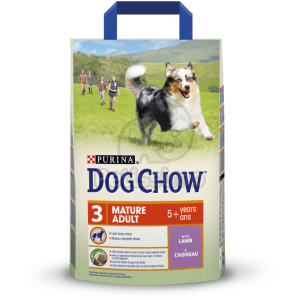 Dog Chow Mature Adult Lamb 2,5 kg
