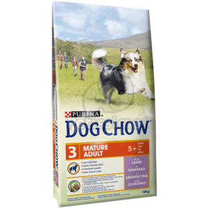 Dog Chow Mature Adult Lamb 2 x 14 kg