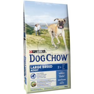 Dog Chow Adult Large Breed Turkey 2 x 14 kg