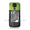 Nokia 5000 középső keret hangszóróval rezgővel zöld kameratakaróval (swap)