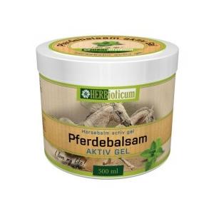 Herbioticum Lóbalzsam aktív hűsítő gél 500 ml