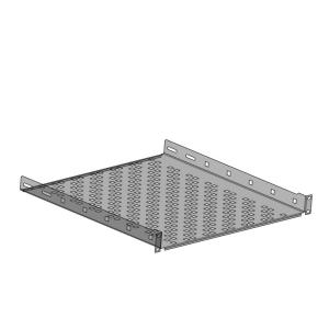 Netrack equipment shelf 19\'\' 1U/550mm charcoal