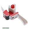 ragasztószalag tépőgép max.:50mm szélességig, max. 66m hosszúságig, műanyag, kézi, állítható szalagsebesség