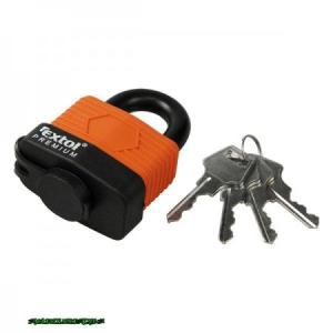 lakat, laminált, vízálló, 4db kulcs; 40mm, kengyelszárátmérő:8/12mm
