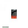 fafúró klt. 8 db, rövid, 3-4-5-6-7-8-9-10mm, Cr.V., normál befogás; műanyag dobozban