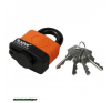 lakat, laminált, vízálló, 4 db kulcs; 50mm,kengyelszárátmérő:11/14mm kerékpár és kerékpáros felszerelés