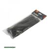 kábelkötegelő 4,8×250mm 100db, fekete nylon;