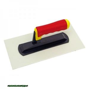 műanyag glettelő; 14×28cm (2mm)