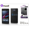 Made for Xperia MUVIT Sony Xperia M2 hátlap - Made for Xperia Muvit miniGel - black
