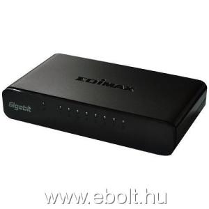 Edimax 8 Port Gigabit SOHO Switch with USB cable, energy efficient 802.3az
