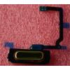 Samsung G900 Galaxy S5 home gomb átvezető fóliával arany*
