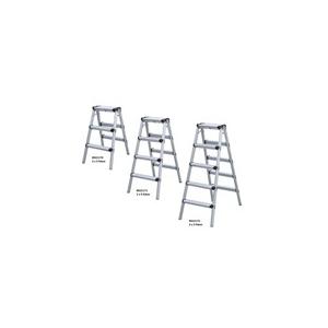 Jkh létra háztartási 2x4 fokos kétágú (alu)
