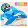 Felfújható kis delfin lovagló