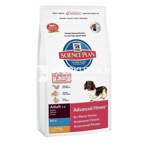 Hill's SP Canine Adult Advanced Fitness™ Mini Chicken 2 x 7 kg