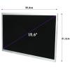 Qoltec LCD 15.6\'\' 1366*768 GLOSSY Slim - 30Pin  GRADE A+