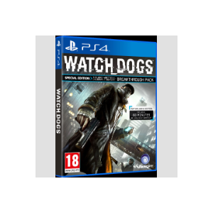 Ubisoft Watch Dogs Special Edition PS4