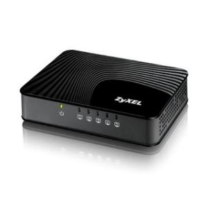 ZyXEL GS-105S v2 5-Port Desktop Gigabit Ethernet Media Switch, nem menedzselhető (GS-105SV2-EU0201F)