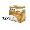 Purina Gourmet Gold Hús+zöldségszósz 12x (8x85g)