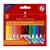 Faber-Castell 12 db-os radírozható vastag zsírkréta készlet
