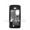 Nokia 7100 slide középső keret fekete (swap)