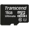 Transcend memóriakártya Micro SDHC 16GB UHS-I 600x (TS16GUSDHC10U1)