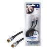 HQ SuperSilver Digitális koax kábel 1.5m 75 Ohm