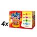 Propesko Csirke+marha+nyúl+lazac Macskaeledel, 4 x (12x100) g